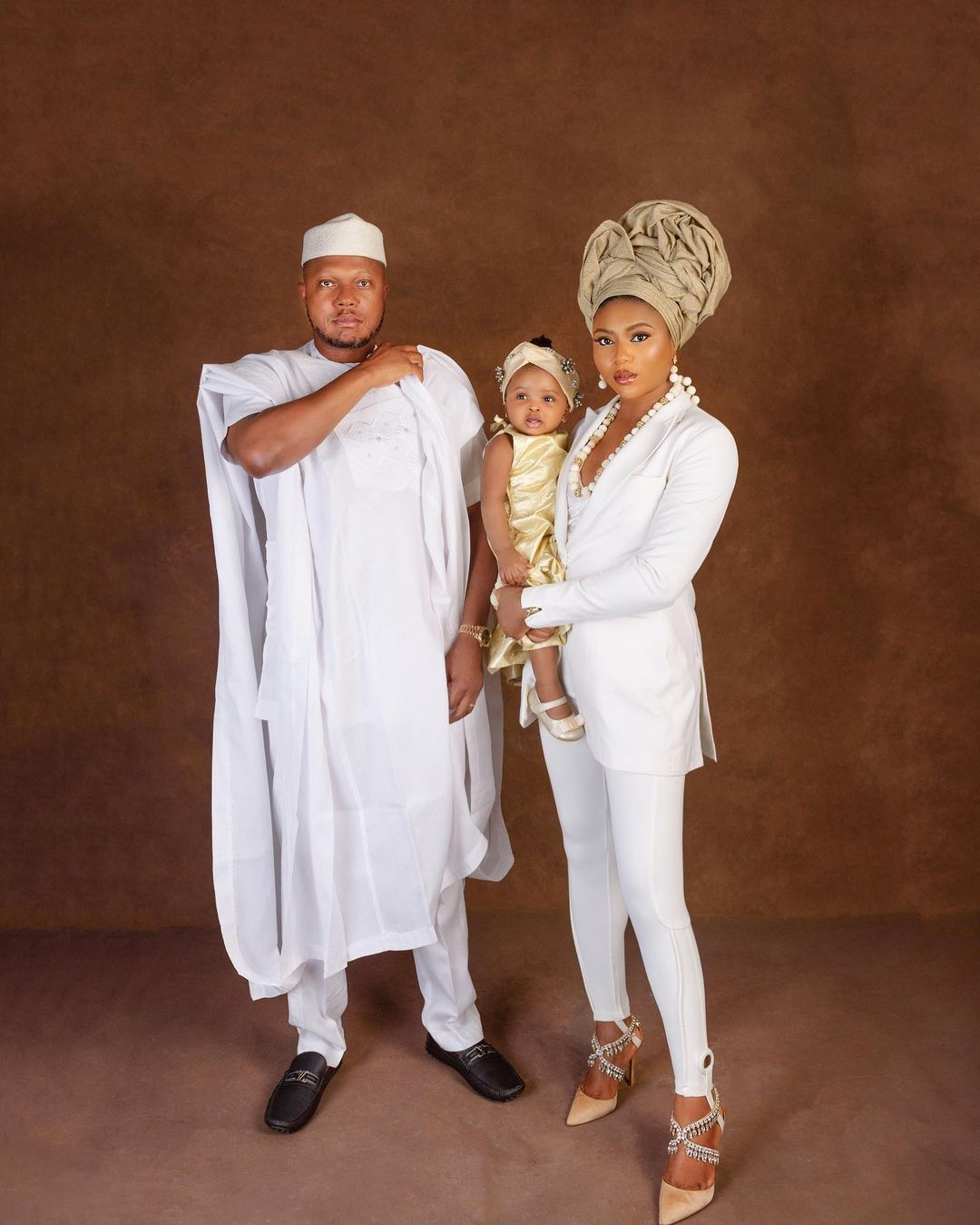 Stephanie Coker unveils face of daughter for the first time as she turns 1