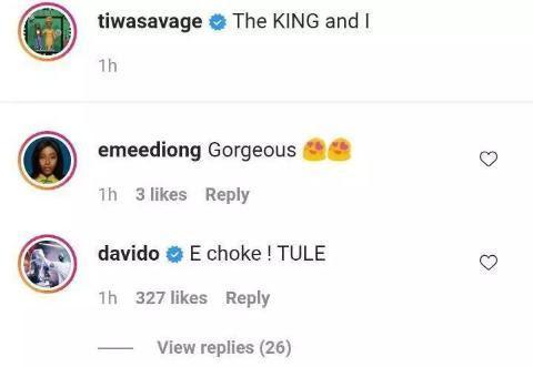 Tiwa Savage shares
