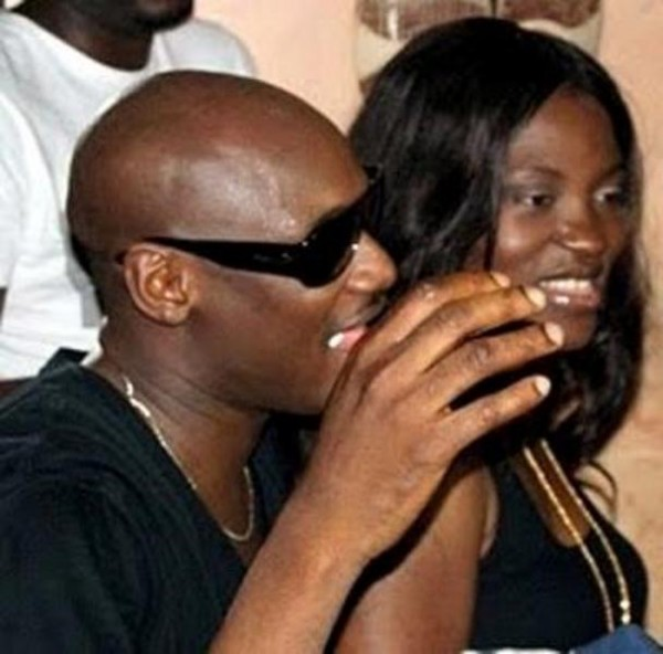 Tuface Idibia and Pero Adeniyi celebrate
