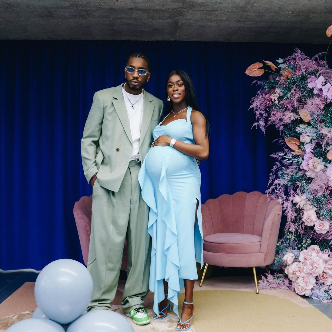 Ex-Oyo State Governor's daughter Grace Ladoja welcomes a child with rapper Teezee