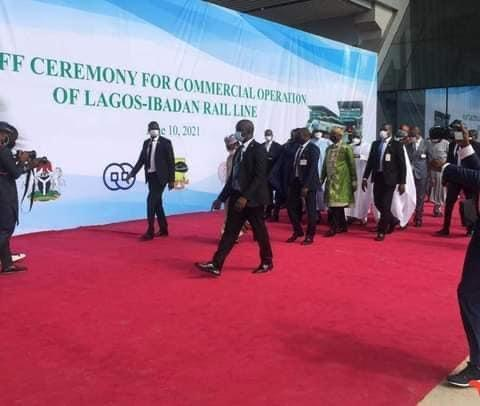 President Buhari arrives Lagos for Commissioning of Projects (Photos)