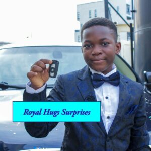 10-year-old boy receives BMW car as birthday gift from his mum (Photos)