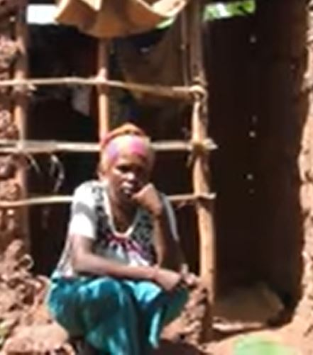 Woman narrates how she has been living in a toilet with her kids for six years (Video)