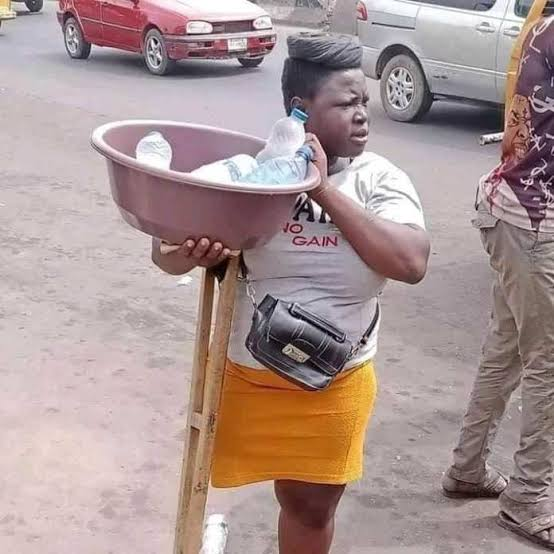 Viral Lagos amputee hawker acquires
