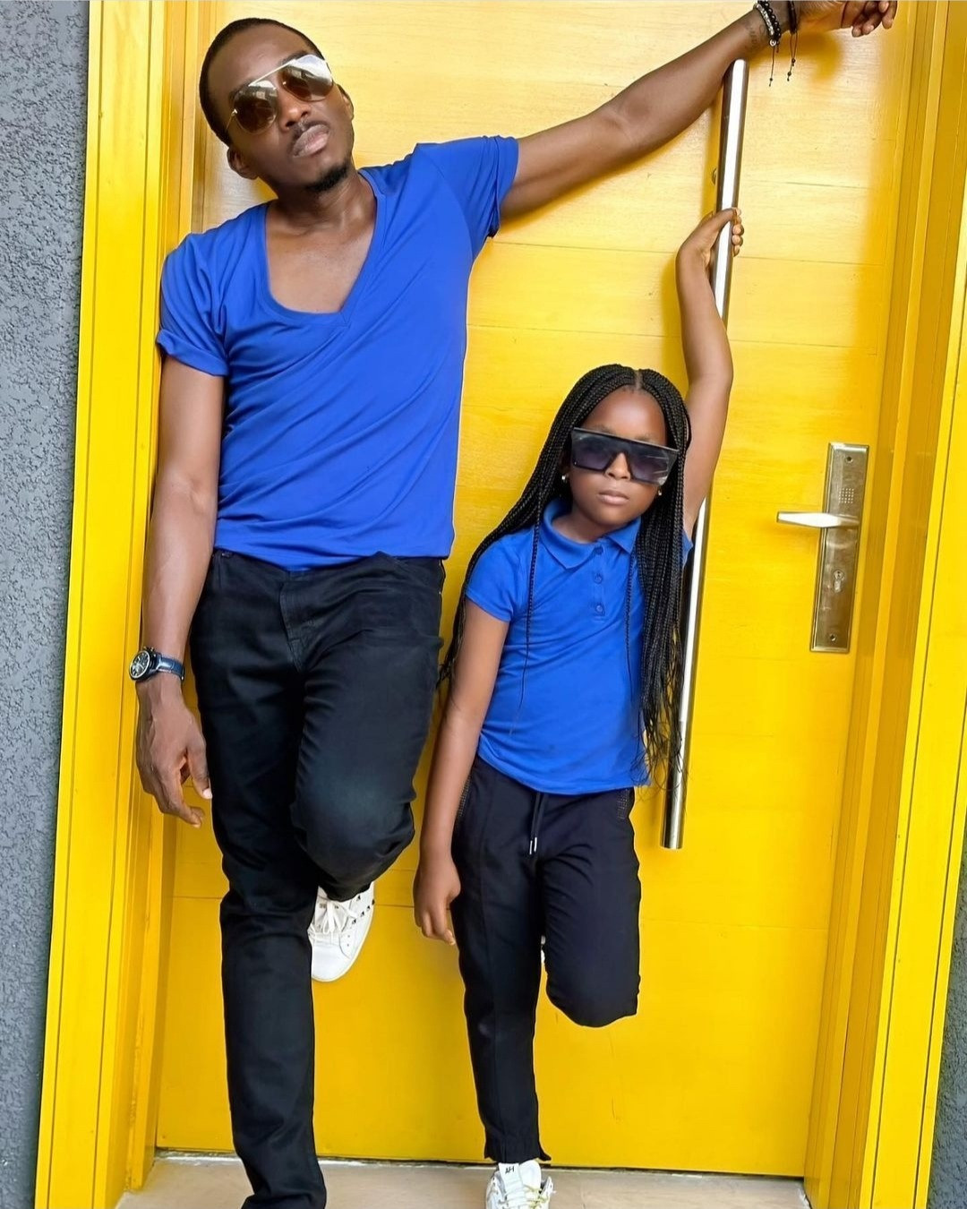 Bovi and daughter