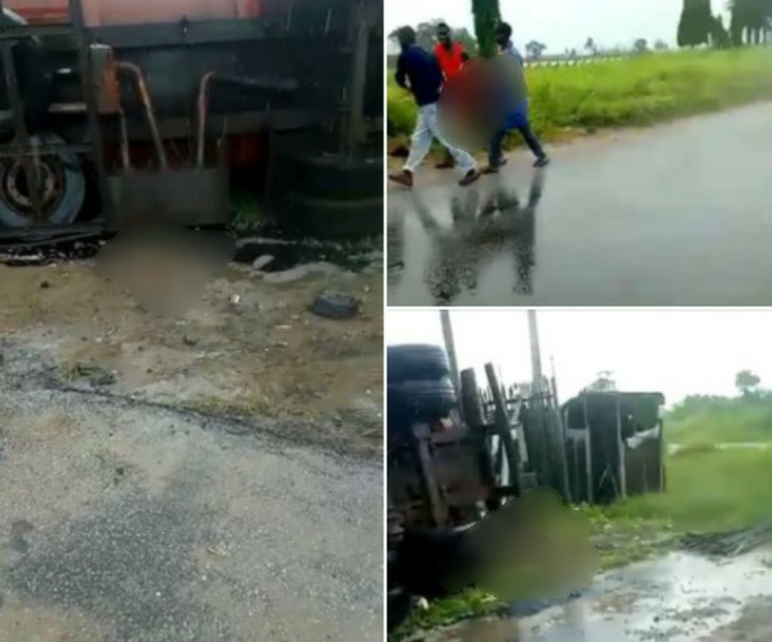 A mother loses 4 children as Tanker crushes 15 Army day secondary school pupils to death in Delta.