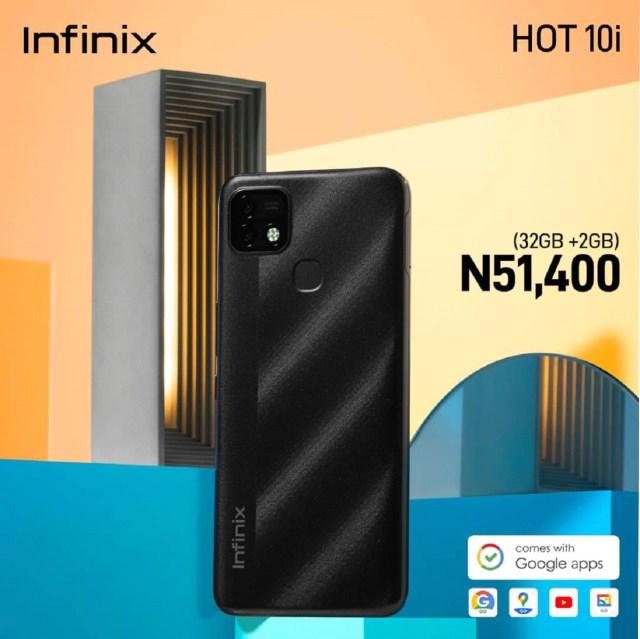 Infinix Hot10i