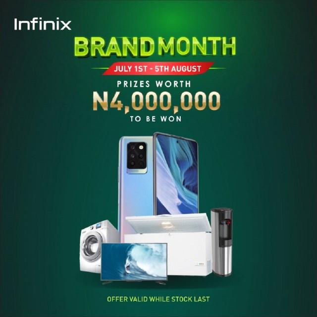 Infinix Brand Month
