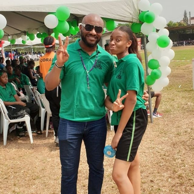 """""""I'm super proud of you, that's brilliance"""" - Actor, Yul Edochie celebrates his daughter as she scores 241 in JAMB"""