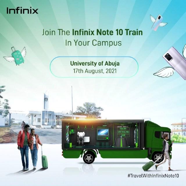 Infinix Note10 Caravan