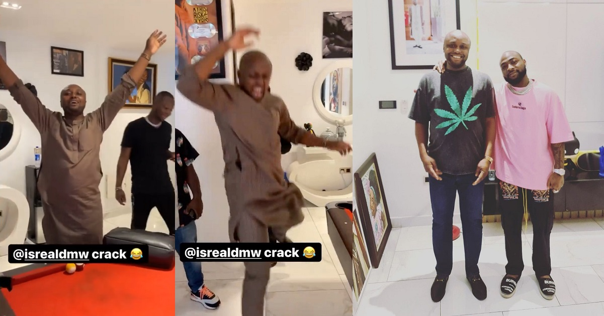 """""""Clear road for my Oga"""" - Isreal DMW jubilates as Davido lifts his suspension (Video) - YabaLeftOnline"""