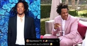 Rapper, Jay-Z tells