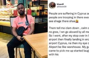 Nigerian man warns