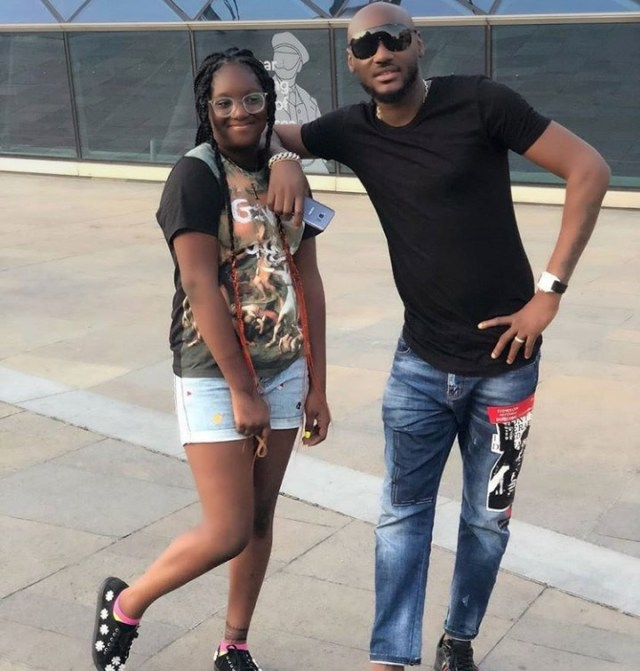 2baba's daughter Isabella replies troll who tried to body-shame her (Video)