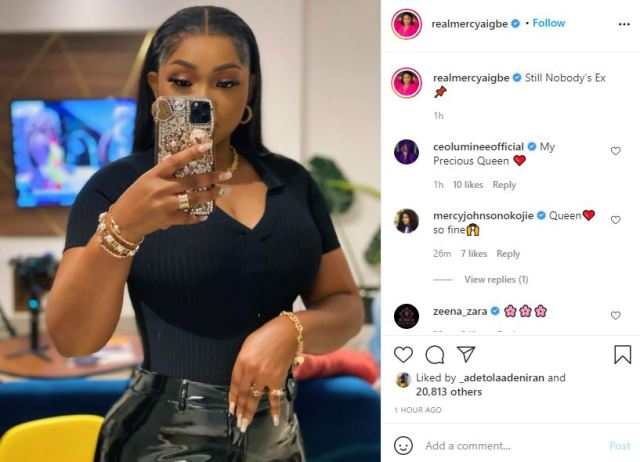"""""""Still nobody's ex"""" - Mercy Aigbe writes as her ex-husband Lanre Gentry ties the knot again"""