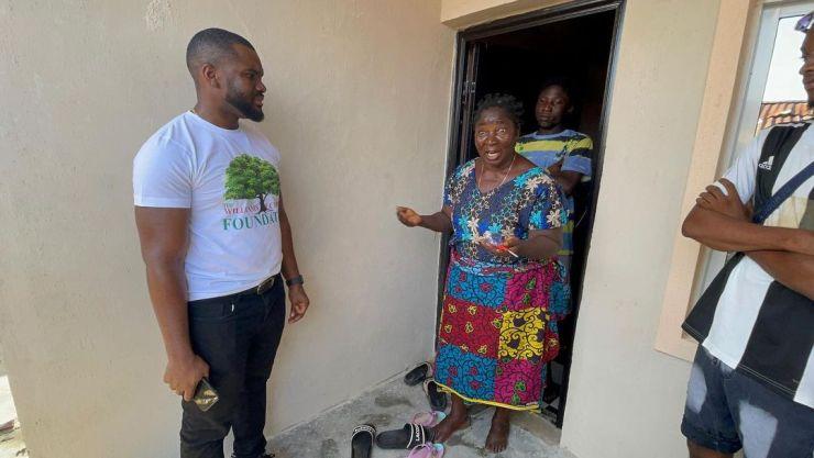 Williams Uchemba gifts widow