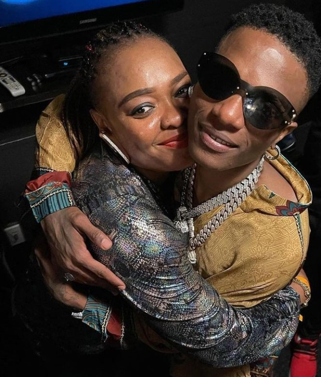 Wizkid gives his sister