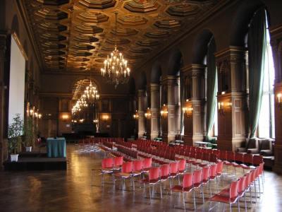 salle cité internationale universitaire de Paris, conférenceorganisée par le Réseau Musulman des Grandes Écoles (RMGE)