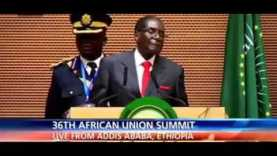 Mugabe Speech on Obama & United Nations A True  Leader 1/ 30/2016