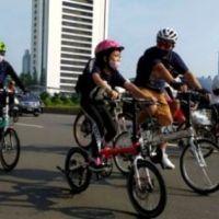 berbagai Jenis Sepeda di car free day