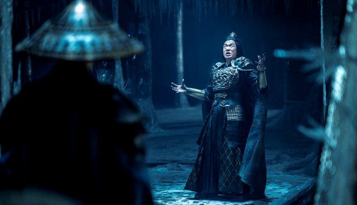 Shang Tsung saat mengoceh pada Raiden - mortal kombat 2021