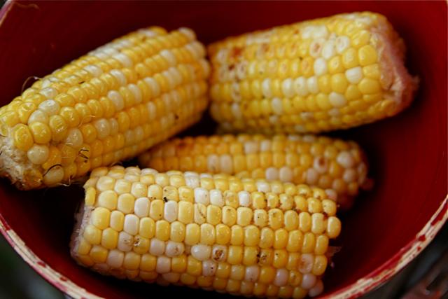 Corn pancake breakfast recipe