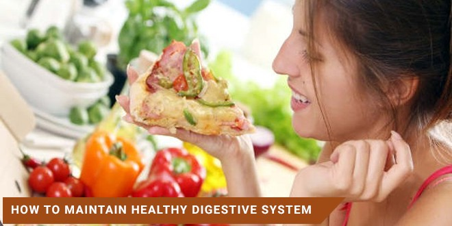How to maintain healthy digestive system