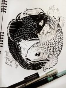 That Fishy Tale tattoo designs