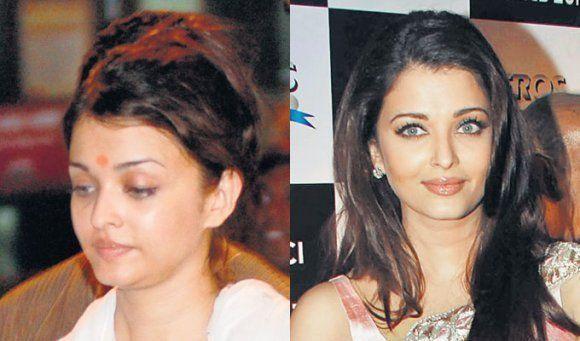Aishwarya Rai without makeup photos