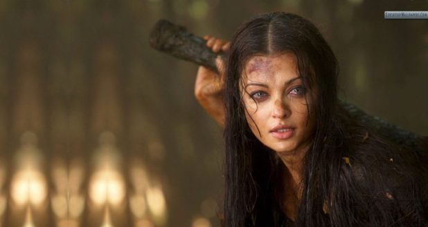 Aishwarya Rai Without Makeup ,Aishwarya Rai Without Makeup in Raavan Movie