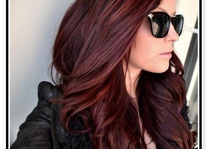 Magical Mahogany Hair Color Ideas