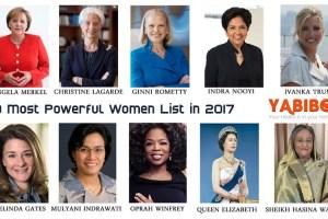 10 Most Powerful Women List in 2017