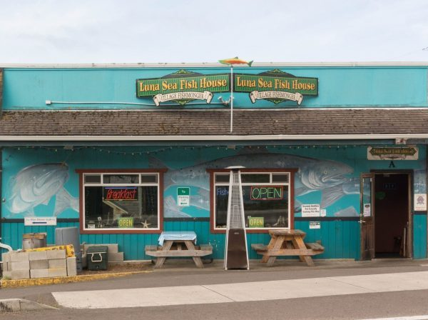 Luna Sea Fish House, Yachats, OR