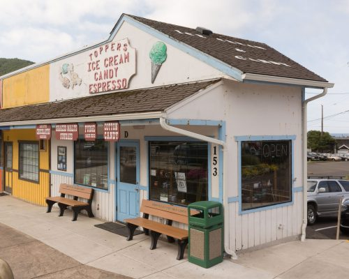 Topper's Ice Cream, Candy, Espresso, Yachats, OR