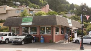 Green Salmon Coffee Co. & Cafe, Yachats, OR