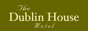 Dublin House Motel Logo, Yachats, OR