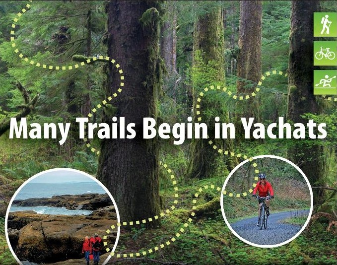 Many Trails Begin in Yachats Photo