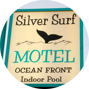 Silver Surf Motel Sign