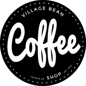 The Village Bean Logo, Yachats, OR