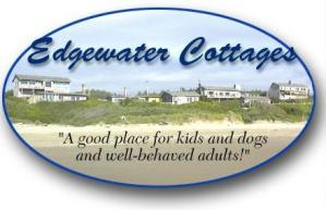 Edgewater Cottages Logo, Yachats, OR