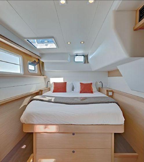 Lagoon 450 Interior Yacht Charter In Croatia