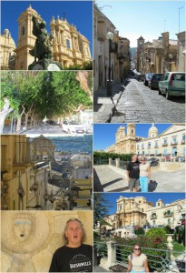 The sights of Noto