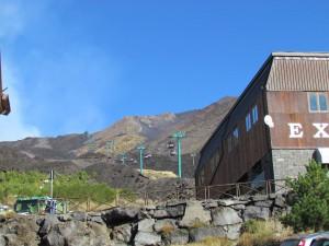 The ski lift