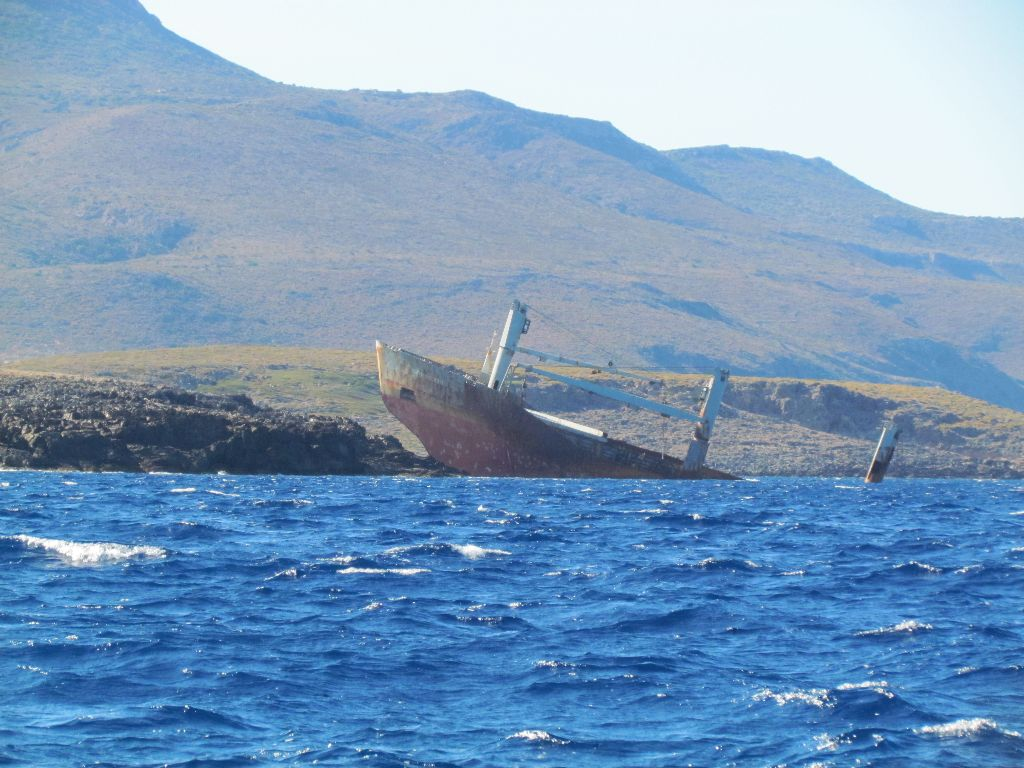 It seems we're not the only ones to have had trouble with the wind on Kythira