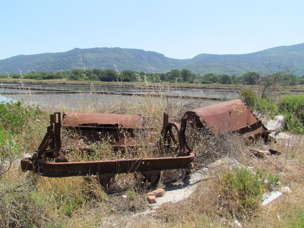 Remains of the salt industry