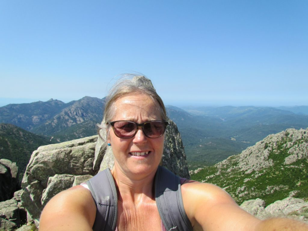 In my happy place - I love mountains!