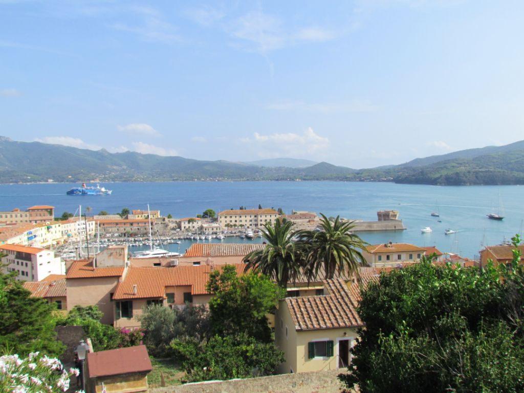 Looking over Portoferraio harbour