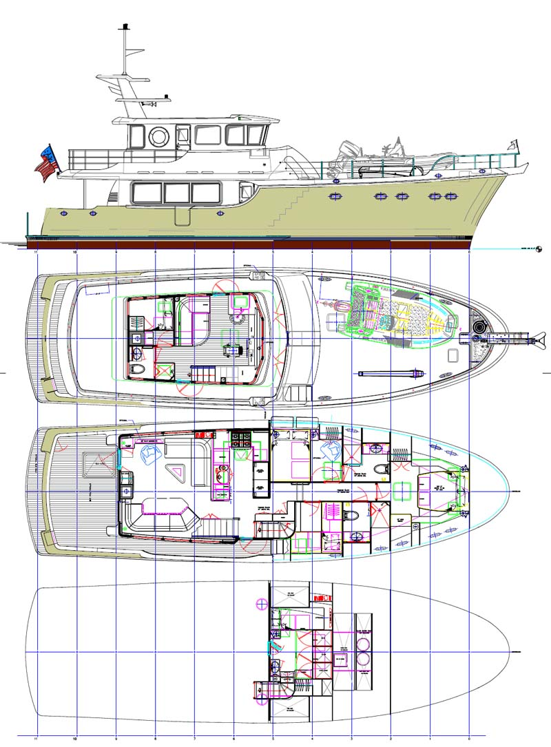 Review Nordhavn Yachts 63 Expedition Trawler Page 2