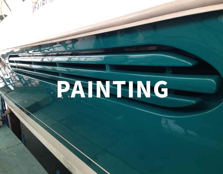 painting sailboats, yacht 5 Lands, La Spezia - La Spezia Yachting Service