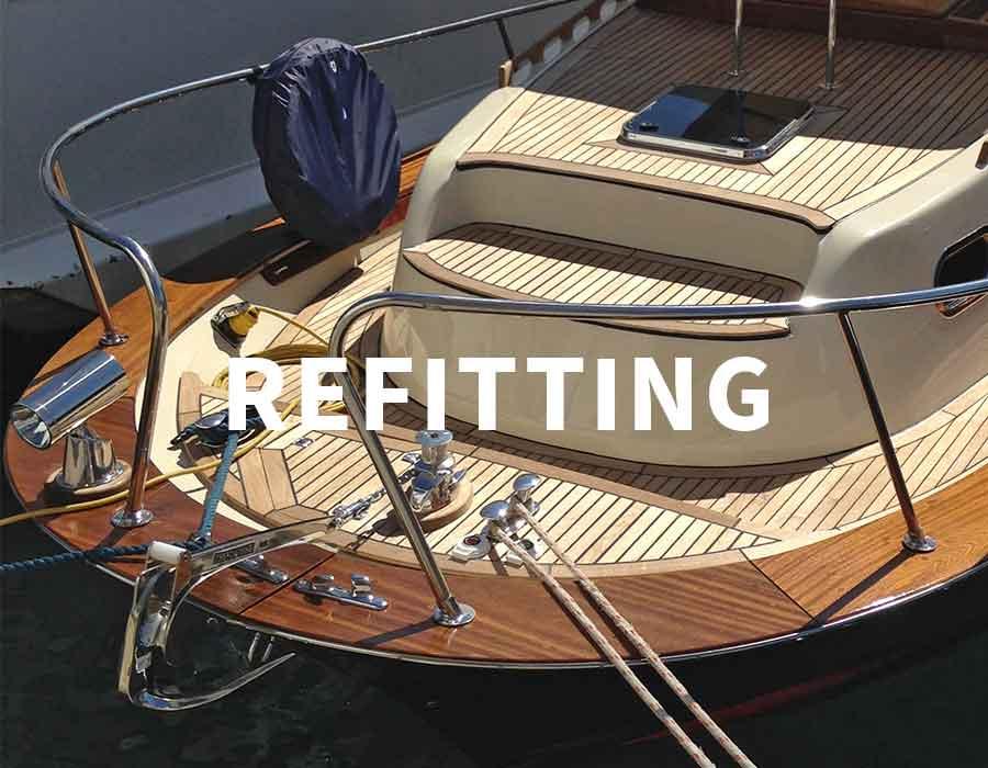 refitting 5 terre, La Spezia, Portovenere - La Spezia Yachting Service